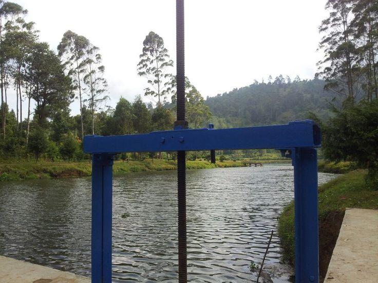 Pintu air Situ Cisanti Kertasari