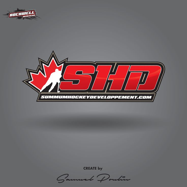 Logo SHD Summum Hockey Developpement by Rockwell Racing Design