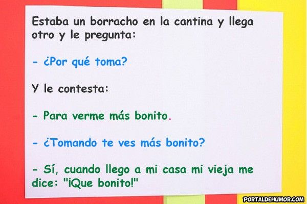 Chiste de Borracho Bonito