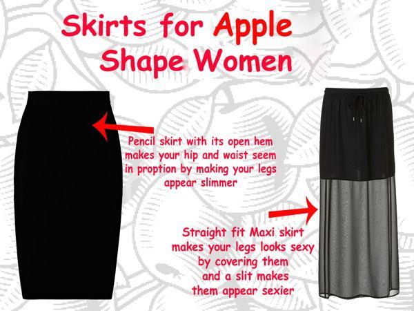 Maxi dress to suit apple shape