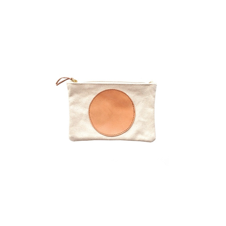 utility pouch / jesse kamm.: Style Utility, Women Handbags, Utility Pouch, Leather Circles, Handbags Inspiration, Jesse Comb, Products, Leather Bags, Circles Utility