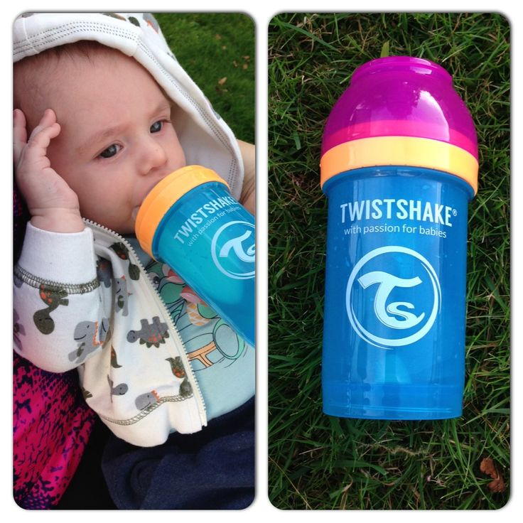 One creative color combination of our lovely bottle! www.twistshake.com