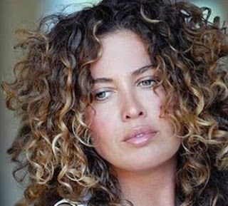 balayage on curly hair - Google Search