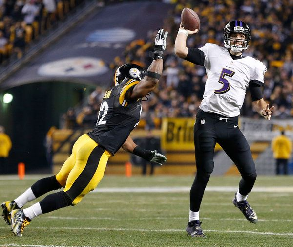 Go Ravens! Ravens Top Steelers in Rough Rivalry Game That Upends Playoff Field - NYTimes.com