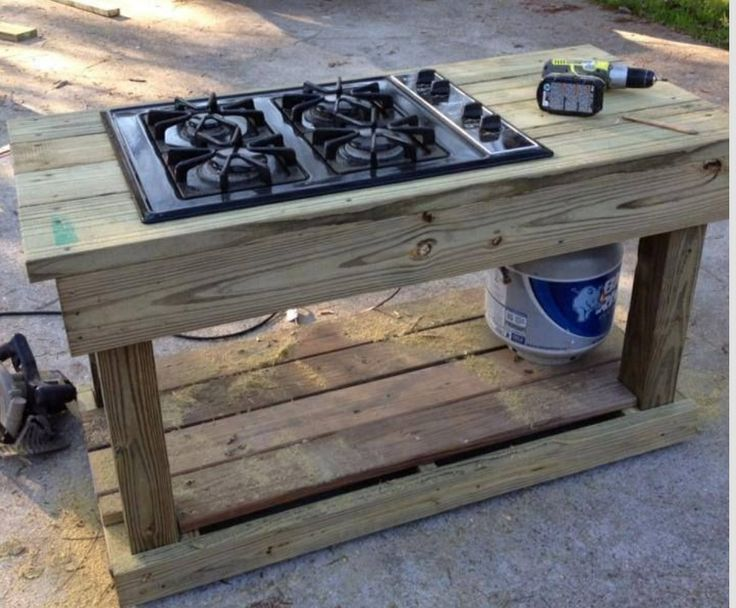 Gas Stove Top Fire Pits ♨️ And Outdoor Cooking