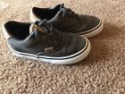Toddler Boy/Girl VANS Charcoal Gray Canvas Athletic Shoes. 8