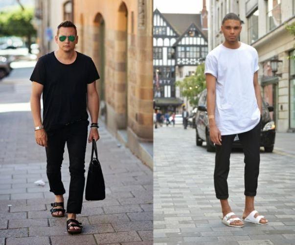 PAPETE  Você quer se informar a respeito das tendências de calçados masculinos 2017? Então saiba que a papete é uma das grandes apostas da temporada. Esse sapato divide opiniões, mas serve para compor looks bem confortáveis de verão. novolook.com