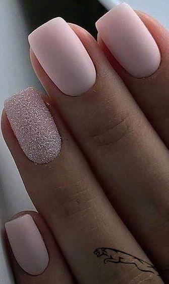 30 Fabulous Matte Nails Design For Short Nails     #nailsart
