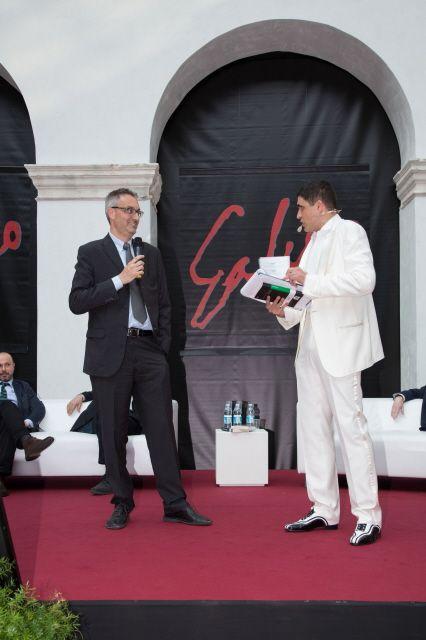 il 5° classificato Vincenzo Barone con Moreno Morello