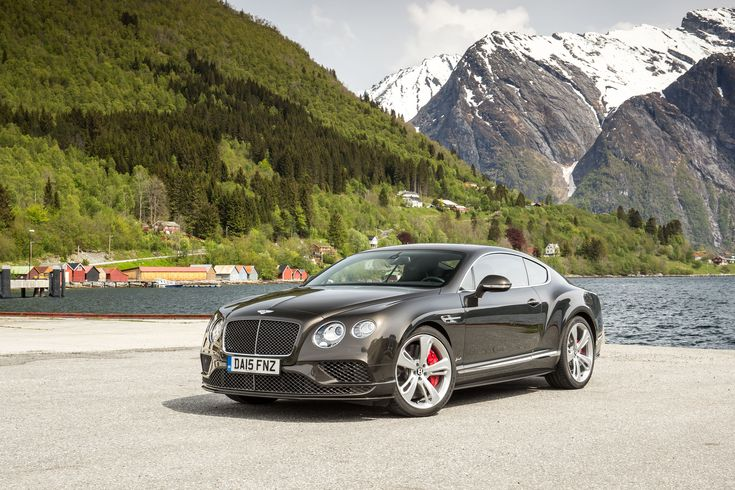 Record breaking Bentley Continental GT Speed in action at Goodwood Festival of Speed - http://www.motrface.com/record-breaking-bentley-continental-gt-speed-in-action-at-goodwood-festival-of-speed/