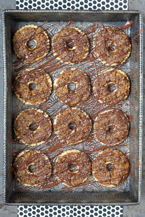 Homemade Samoas. | Sweet Treats | Pinterest