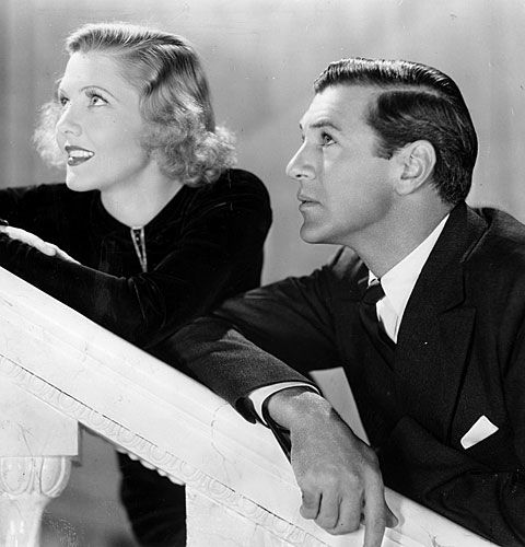 "Jean Arthur and Gary Cooper in ""Mr. Deeds Goes to Town"" March 4, 1937 Best picture: 'The Great Ziegfeld' Act­or: Paul Muni, ""The Story of Louis Pas­teur"" Act­ress: Lu­ise Rain­er, ""The Great Ziegfeld"" Sup­port­ing act­or: Wal­ter Bren­nan, ""Come and Get It"" Sup­port­ing act­ress: Gale Son­der­gaard, ""An­thony Ad­verse"" Dir­ect­or: Frank Capra, ""Mr. Deeds Goes to Town"""