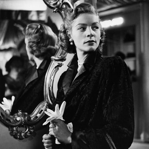 """Lauren Bacall in """"Young Man with a Horn""""  (1950)                                                                                                                                                                                 More"""