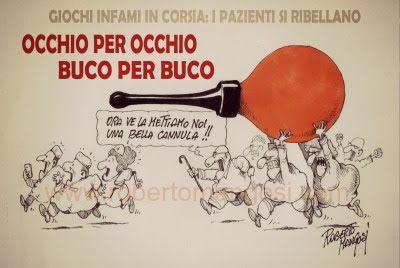 ITALIAN COMICS - Vicenza. Ospedale San Bortolo: Giochi in corsia…