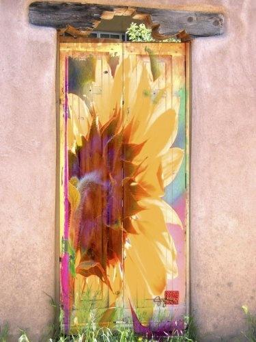 Sunflower Door