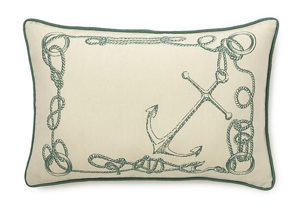 14x20 Nautical Knots Pillow