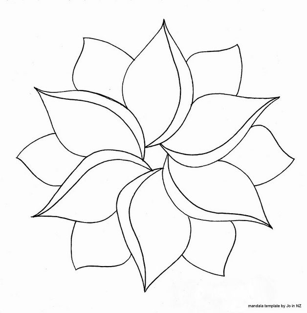 The 25+ best Flower petal template ideas on Pinterest