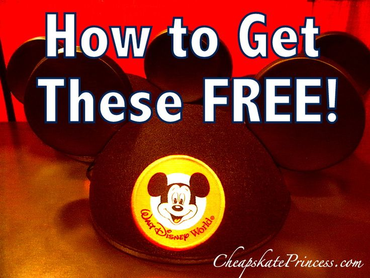 Ice Cream, Mickey Mouse Hats, and Gift Cards: How to get these FREE for your next Disney vacation!! (Book now, travel in '14 or '15)