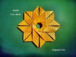 Origami, Fleurogami und Sterne: Asmin