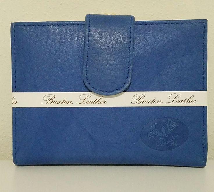 NWT Buxton Genuine Leather Exterior Blue Mini Womens Tri-Fold Wallet  #Buxton #MiniWallet #Ebay #Ebaystore #Isoldthisonebay #Favordesignsboutique #247resale #Thrift #Onlinethrift #Workathome #Smallbusiness #Onlinebusiness #Makemoneyathome