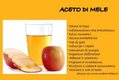 18 rimedi con l'aceto di mele
