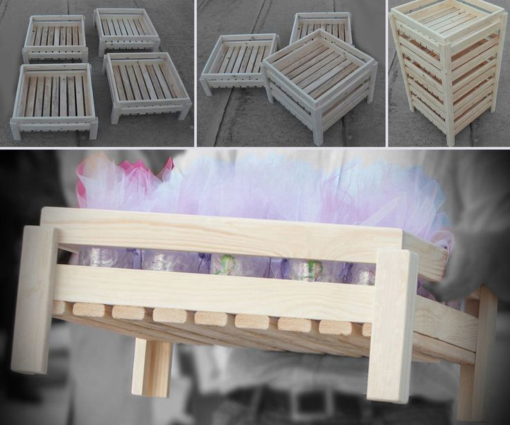 Helloooo & Happy New Year Everybody!Take a look in this instructable, where you will see how I built some wooden crates, made of Pinewood, that I created for the favors of my niece's baptism.