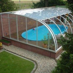 Крытый бассейн на даче..…