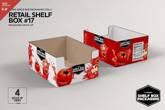 Download Retail Shelf Box 17 Packaging Mockup Packaging Mockup Design Mockup Free Retail Shelving