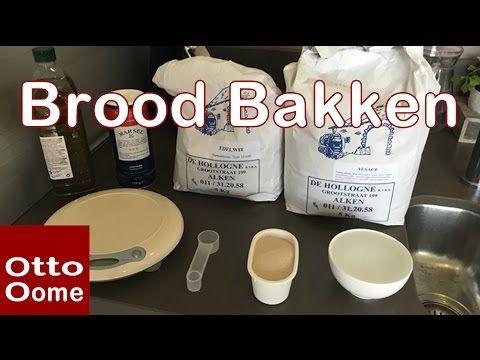 Brood bakken met broodbakmachine Panasonic SD-207 - YouTube