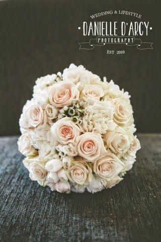 Wedding flowers by Brisbane Florist ~ Romantica Floral Design: Melanie and Jamie's Vibrant Vintage Wedding ~ Hotel Urban, Brisbane ~ peaches and cream