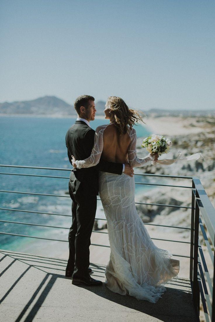 beach wedding in new jersey%0A A Destination Wedding in Cabo San Lucas  Mexico   Brides com