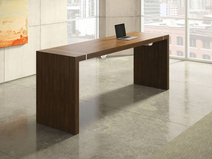 Unique Bar Height Office Desk