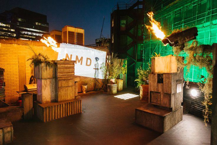 adidas Rocks London With the Dystopian futurehouse