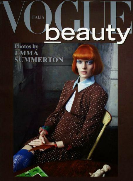Sam Rollinson Vogue Beauty Italy Magazine January 2014