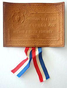 Leather Business Card Uruguay Soccer Referee Hector Ramirez FIFA World Cup 1982  | eBay