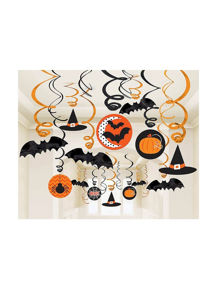 modern halloween swirl decorating kit special decorations and individual party supplies