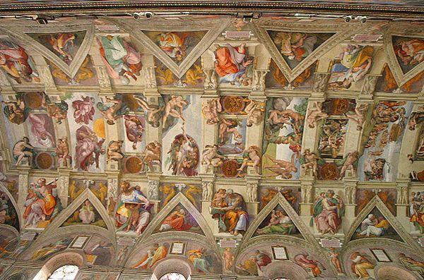 Michelangelo(Capela Cistina)