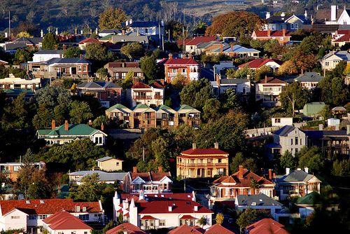 Launceston - great view