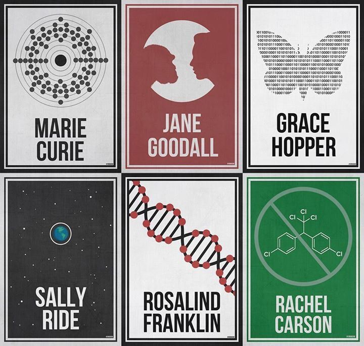"The complete 'Women Who Changed Science - And The World"" collection in honor of the 95th Women's Equality Day."