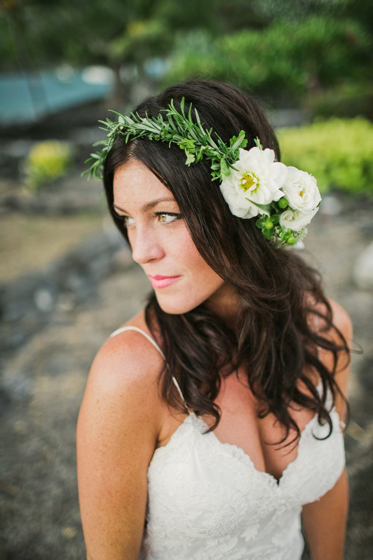 Haku Lei Custom Made By Flowers Heidi Wedding Sara At