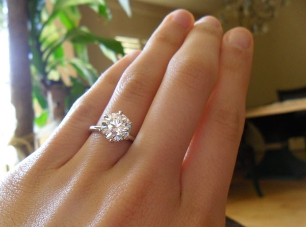 Engagement ring tiffany on hand  90 best Dream Ring! xo images on Pinterest | Dream ring ...
