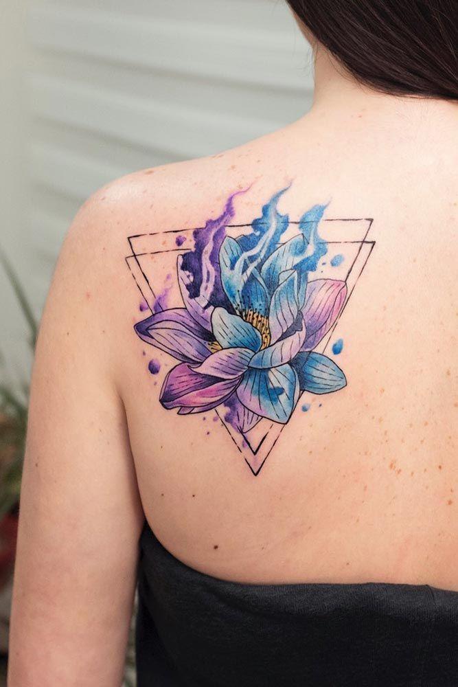 53 Best Lotus Flower Tattoo Ideas To Express Yourself Flower Tattoo Shoulder Shoulder Tattoo Flower Tattoo