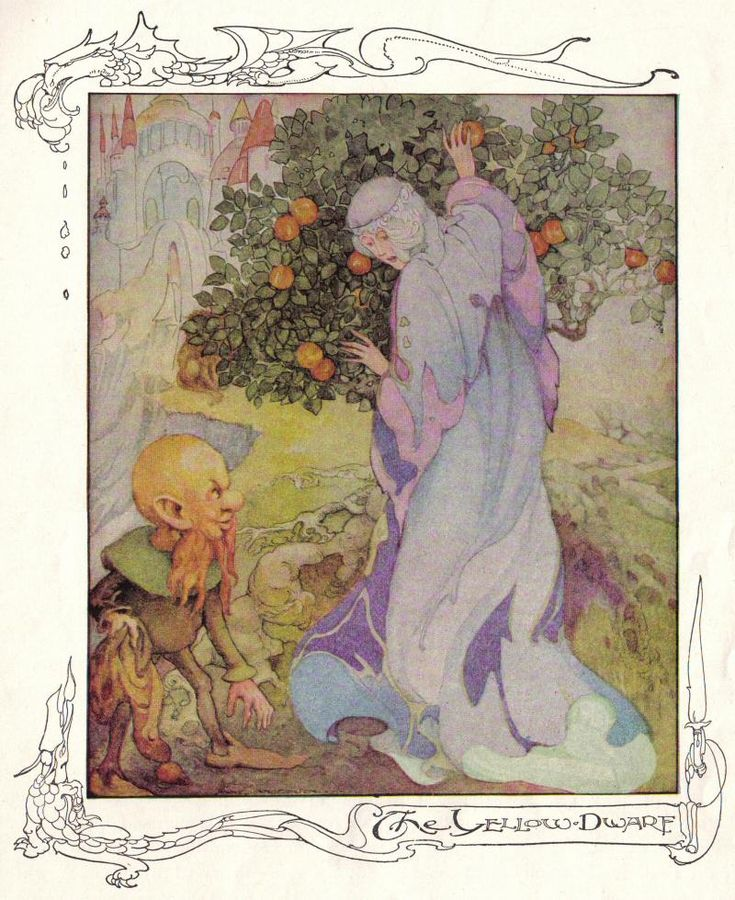The Yellow Dwarf - Anne Anderson's Fairy Tales and Pictures, 1935