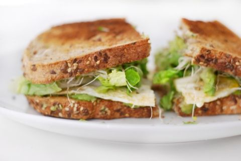 Avocado, egg and sprout sandwich | zRecipes- GET HEALTHY: LOSE WEIGHT ...