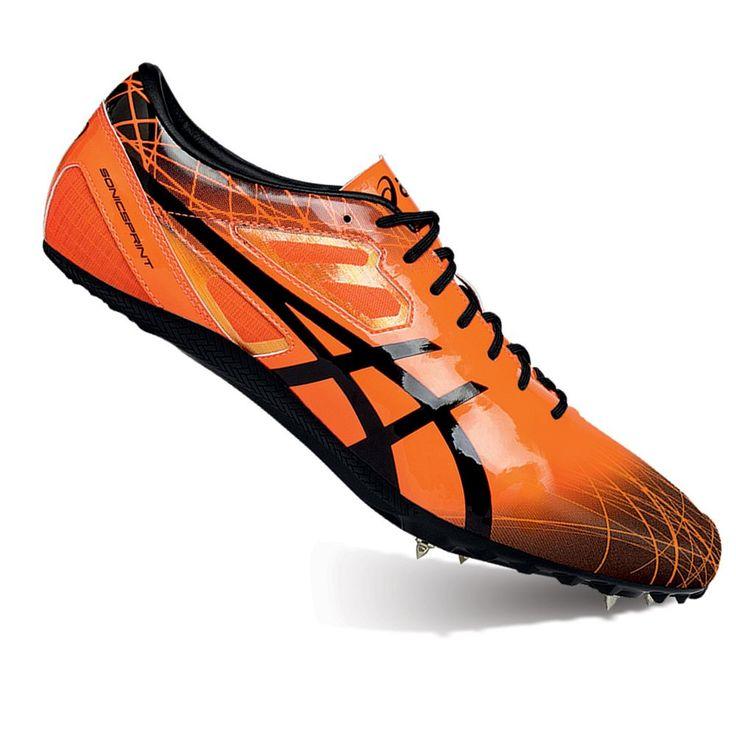 ASICS GEL-Sonicsprint Women's Track & Field Shoes, Size: 10.5, Orange Oth