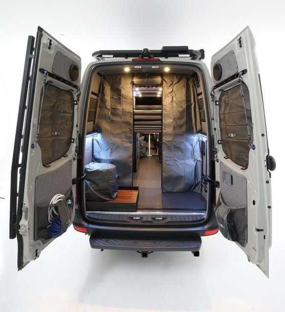 Rb Gear Hauler Van Gd 170 Van Wall Solar Power Panels Vans