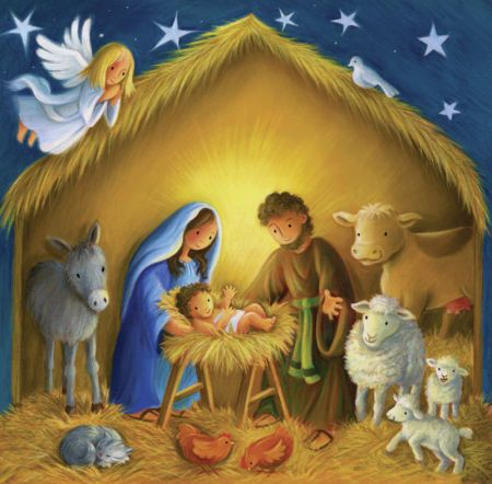389 best painted nativity images on Pinterest | Christmas ideas ...