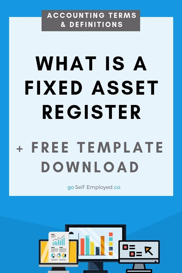 What Is A Fixed Asset Register Definition And Free Excel Template Life Insurance Facts Fixed Asset Life Insurance For Seniors