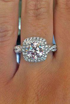 Utterly Gorgeous Engagement Ring Ideas ❤ See more: http://www.weddingforward.com/engagement-ring-inspiration/ /explore/weddings/