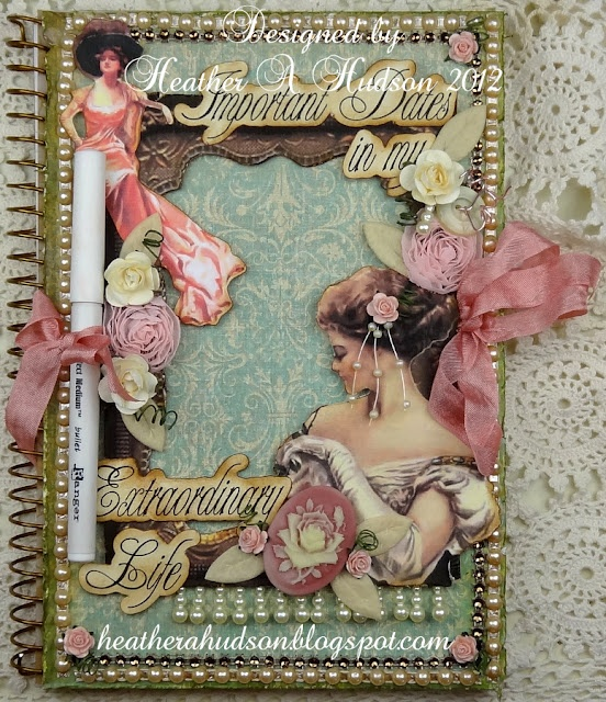 Heather A Hudson: Heather Hudson, Altered Art, Geckos Galz, Altered Lovely, The Roller Coasters